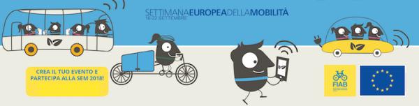 """Dal 16 al 22 settembre 2018 torna la """"Settimana Europea della mobilità…in bicicletta"""""""